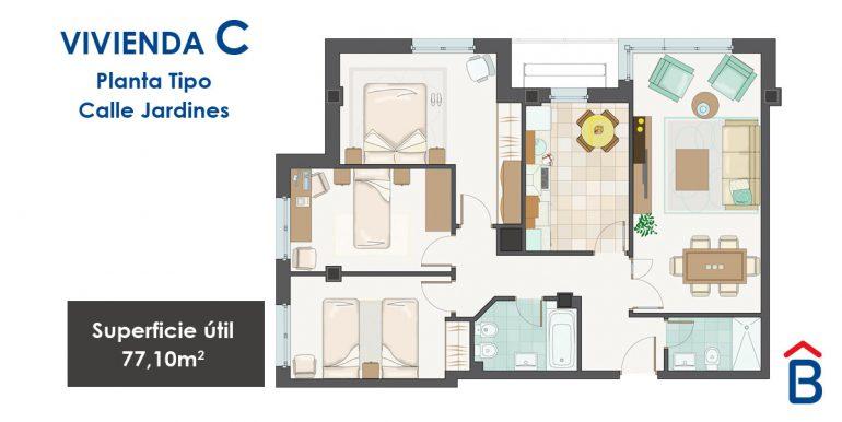 jardines vivienda tipoC