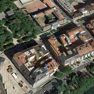 Imagen aérea de Palencia